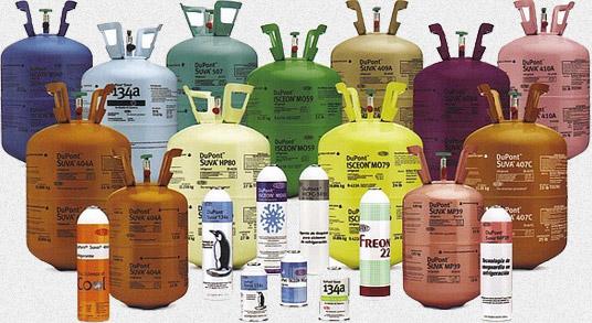 фреон Dupont - продуктовата гама
