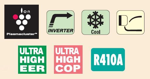 Климатици Sharp AY/AE-XP12GHR, цени, климатик