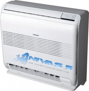 Климатици Toshiba серия B-UFV-E подов климатик