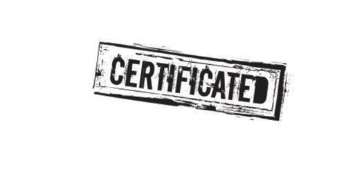 Сертифициран
