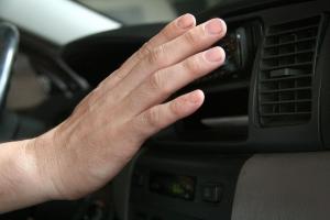Проверка на температурата на автоклиматик